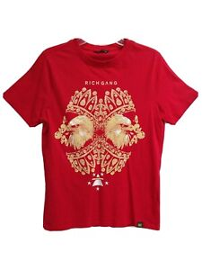 Rich Gang Eagles T- Shirt Mens Size M Red