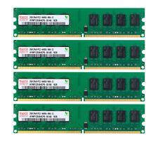 Hynix 8GB 4X 2GB PC2-6400 DDR2 800MHz 240PIN DIMM Desktop RAM Memory Low Density