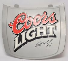 Coors Lite Nascar Memorabilia Hood Decoration Signed By Sterling Marlin