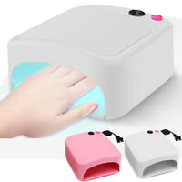 Pro Nail Art 36W UV Lamp Light Gel Polish Curing Drying Machine w/Timer 4 Lamps