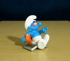 Smurfs Movie Director Smurf Figure Toy 3D Film Vintage Figurine Peyo PVC 20711