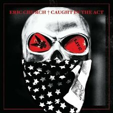 ERIC CHURCH CD - CAUGHT IN THE ACT: LIVE (2013) - NEW UNOPENED - COUNTRY