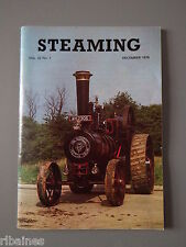 Steaming National Traction Engine Magazine Vol.22 No.1 December 1978