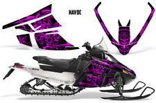 Arctic Cat F Series Sled Wrap Snowmobile Graphics Kit Stickers Decals HAVOC PINK