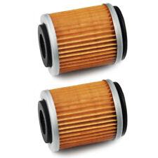 2 PCS Metel Engine Oil Filters for Yamaha TTR250 WR YZ 250F/400F/426F