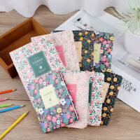 Korean Kawaii Cute Flower Schedule Yearly Diary Weekly Monthly Planner Books DD
