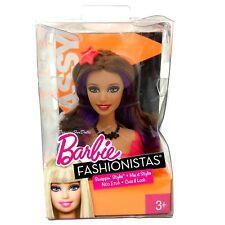 2010 Barbie Fashionistas SWAPPIN ESTILOS cabeza atrevida Nuevo En Caja Usada Muy