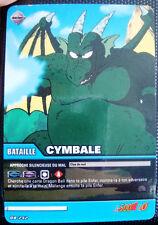A694 Carte de Collection de jeux DRAGON BALL VF  CYMBALE  DB 242