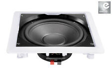 "e-audio Dual Water Resistant 10"" In Wall Or Ceiling Subwoofer (8Ohms 180W) #B415"