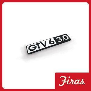 ALFA ROMEO GTV6 3.0 ALFETTA GTV 3.0 V6 BADGE TARGHETTA IDENTIFICATIVA IN METALLO
