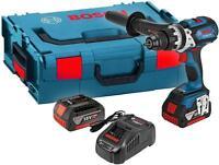 Bosch - GSB18V85C5C - 18v Combi Hammer Drill With 2 X 5.0ah Li-ion Batteries