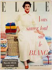 PRINCESS MARGARET in Paris BALENCIAGA Francoise Giroud VTG Fashion ELLE MAGAZINE