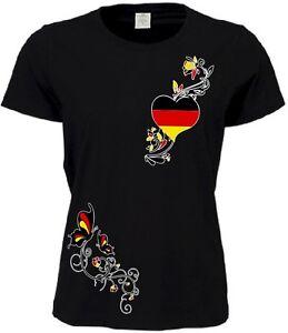 DEUTSCHLAND LADY SHIRT TRIKOT EM 2021 S - 5XL DAMEN GERMANY WEISS SCHWARZ