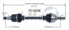 CV Axle Shaft Front Left SurTrack FD-8038 fits 00-11 Ford Focus