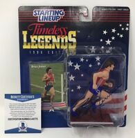 BRUCE JENNER Caitlyn Signed Olympic US Starting Lineup FIGURE Kardashian BECKETT