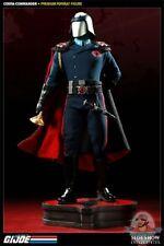 G.I. Joe Cobra Commander Premium Format Figure Statue Sideshow #33 Used