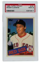 Roger Clemens 1985 Topps #181 Boston Red Sox Tiffany Baseball Card PSA MT 9