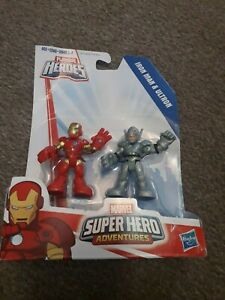 Playskool Heroes Marvel Super Hero Adventures Iron Man and Ultron Hasbro NEW