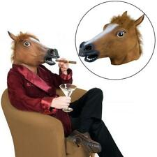 Horse Head Mask Cosplay Latex Animal ZOO Party Costume Prop Toy Novel hot sale