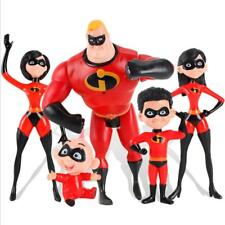 The Incredibles 2 Family 5-Pack Junior Supers Action Figures Kids Toys 6""