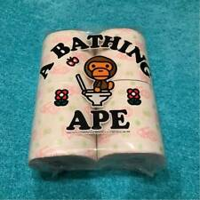 A BATHING APE Baby Milo Printed Toilet Paper Set of 4