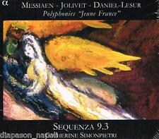 "Polyphonies ""Jeune France"" - Messiaen, Jolivet, Daniel-Lesur / Sequenza 9.3 - CD"