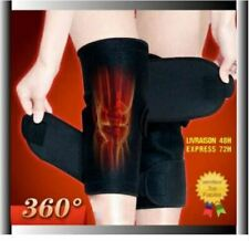 Lot 2 Genouillère Auto-Chauffante Tourmaline genoux douleur arthrose rhumatisme