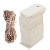 In Legno Decorazione Craft Abbellimenti Forma di Etichette in Bianco