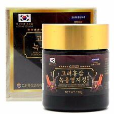 Korea Red Ginseng Deer Antlers Lingzhi mushroom Extract 120g - Ganoderma lucidum
