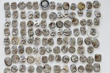 Steampunk Set of different watch movements 100 pcs art parts DIY made in USSR