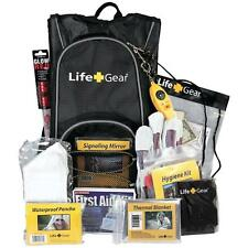 Life Gear LG492 Day Pack Emergency Survival Backpack Kit