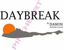 DAY BREAK daybreak damon motor coach decals rv sunset front trailer camper
