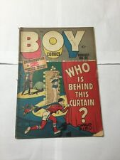 Boy Comics 35 Very Good- Vg- 3.5 See Pictures