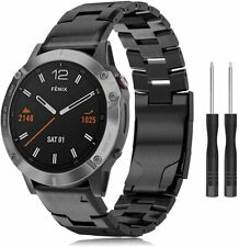 TOPsic Strap Fenix 6 Band 22mm Titanium Bracelet for Fenix watch