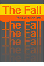 """Reproduction """"Mark E Smith 1957-2018"""" Poster, The Fall, Indie, Manchester"""