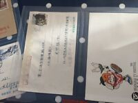 China a selection of FDC covers and letters interesting hoard incl Shanghai