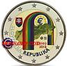 2 Euro Commémorative Slovaquie 2018 en Couleur Type C - République Slovaque