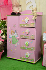 Prinzessin Kommode Kindermöbel Kinderschrank Kinderregal Pink Traum Fee Rosa