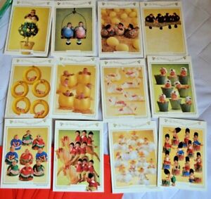 Anne Geddes 1995 12 Days of Christmas 12 Cards With Envelopes Babies Box Portal