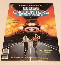 MARVEL SUPER SPECIAL #3 CLOSE ENCOUNTERS 3rd KIND 1978 COMIC MAGAZINE EX. COND.