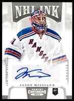 2013-14 Panini Contenders NHL Ink Jason Missiaen RC Auto . #I-JMI