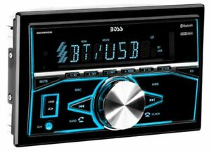 BOSS Double DIN Bluetooth In-Dash Digital Media Car Stereo Receiver | 820BRGB