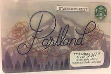 2017 Starbucks Portland Card