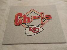 """KANSAS CITY CHIEFS Wall Art - T-shirt Mounted onto 16""""x20"""" Artist Canvas"""