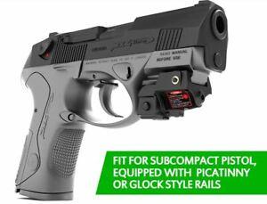 Rechargeable Glock 17 Pistol Green Laser Gun Sight Tactical Self Defense