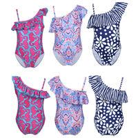 Kids Baby Girls Swimsuit Swimwear Bikini Bathing Suit Swimming Beachwear Costume