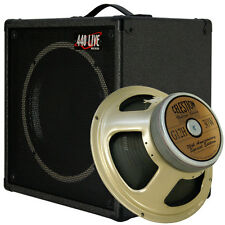 1x12 Guitar Speaker Extension Cabinet W/8 Ohms CELESTION G12H-30 C Black Tolex