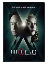 The X-Files Season 10 Event Series 2016 DVD Complete 3 Disc Set Movies Discs NEW