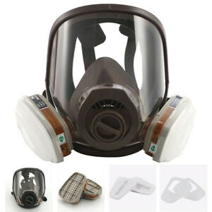 New 7 in 1 6800 Full Face Gas Mask Facepiece Respirator for Painting Spraying