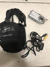 Sony Cyber-shot Camera DSC-P200 7.2MP 3x Zoom Silver